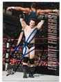 SHEAMUS AUTOGRAPHED WRESTLING CARD #31420B