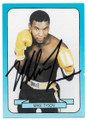 MIKE TYSON AUTOGRAPHED VINTAGE BOXING CARD #31620B
