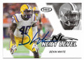 DEVIN WHITE LSU FIGHTING TIGERS AUTOGRAPHED ROOKIE FOOTBALL CARD #31620D
