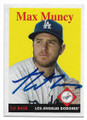 MAX MUNCY LOS ANGELES DODGERS AUTOGRAPHED BASEBALL CARD #32320D