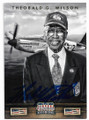 THEOBALD G. WILSON TUSKEGEE AIRMEN AUTOGRAPHED CARD #32420A