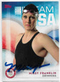 2016 TOPPS UNITED STATES OLYMPIC TEAM #14 MISSY FRANKLIN U.S. OLYMPIC SWIMMING TEAM AUTOGRAPHED OLYMPICS CARD #32620A