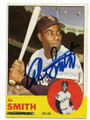 AL SMITH CHICAGO WHITE SOX AUTOGRAPHED VINTAGE BASEBALL CARD #32720D