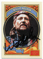 WILLIE NELSON AUTOGRAPHED CARD #32820D