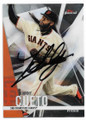 JOHNNY CUETO SAN FRANCISCO GIANTS AUTOGRAPHED BASEBALL CARD  #33120C