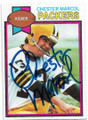 CHESTER MARCOL GREEN BAY PACKERS AUTOGRAPHED VINTAGE FOOTBALL CARD #40220B