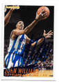"JOHN ""HOT ROD"" WILLIAMS CLEVELAND CAVALIERS AUTOGRAPHED BASKETBALL CARD #40220D"