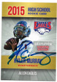 KYLER MURRAY ALLEN HIGH SCHOOL BALD EAGLES AUTOGRAPHED ROOKIE FOOTBALL CARD #40920B