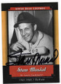 STAN MUSIAL ST LOUIS CARDINALS AUTOGRAPHED BASEBALL CARD #41220A