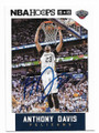 ANTHONY DAVIS NEW ORLEANS PELICANS AUTOGRAPHED BASKETBALL CARD #41320C