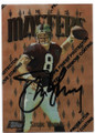 STEVE YOUNG SAN FRANCISCO 49ers AUTOGRAPHED FOOTBALL CARD #41620D
