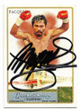 MANNY PACQUIAO AUTOGRAPHED BOXING CARD #51120A