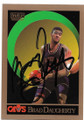 BRAD DAUGHERTY CLEVELAND CAVALIERS AUTOGRAPHED VINTAGE BASKETBALL CARD #51120D