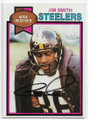 JIM SMITH PITTSBURGH STEELERS AUTOGRAPHED VINTAGE FOOTBALL CARD #51320B