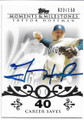 TREVOR HOFFMAN SAN DIEGO PADRES AUTOGRAPHED & NUMBERED BASEBALL CARD #51620F