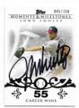 JOHN SMOLTZ ATLANTA BRAVES AUTOGRAPHED & NUMBERED BASEBALL CARD #51820G