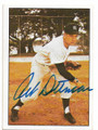 ART DITMAR NEW YORK YANKEES AUTOGRAPHED VINTAGE BASEBALL CARD #51920A