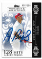 ALBERT PUJOLS LOS ANGELES ANGELS OF ANAHEIM AUTOGRAPHED & NUMBERED BASEBALL CARD #51920G