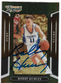 BOBBY HURLEY DUKE UNIVERSITY BLUE DEVILS AUTOGRAPHED BASKETBALL CARD #52420B