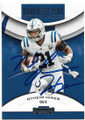 NYHEIM HINES INDIANAPOLIS COLTS AUTOGRAPHED ROOKIE FOOTBALL CARD #52520C