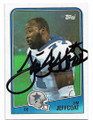 JIM JEFFCOAT DALLAS COWBOYS AUTOGRAPHED VINTAGE FOOTBALL CARD #52720G