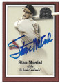STAN MUSIAL ST LOUIS CARDINALS AUTOGRAPHED BASEBALL CARD #53120A