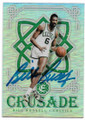 BILL RUSSELL BOSTON CELTICS AUTOGRAPHED BASKETBALL CARD #60220i