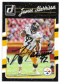 JAMES HARRISON PITTSBURGH STEELERS AUTOGRAPHED FOOTBALL CARD #60220J