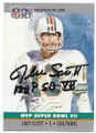 JAKE SCOTT MIAMI DOLPHINS AUTOGRAPHED VINTAGE FOOTBALL CARD #60320F