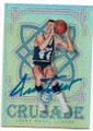 JERRY WEST LOS ANGELES LAKERS AUTOGRAPHED BASKETBALL CARD #60820F