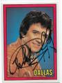 "PATRICK DUFFY AUTOGRAPHED ""DALLAS"" CARD #60920H"