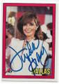 """LINDA GRAY AUTOGRAPHED """"DALLAS"""" CARD #61420C"""