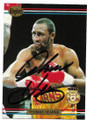 THOMAS HEARNS AUTOGRAPHED BOXING CARD #61420F