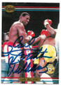 CARL WILLIAMS AUTOGRAPHED BOXING CARD #61520D