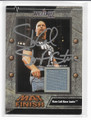 STONE COLD STEVE AUSTIN AUTOGRAPHED PIECE OF THE GAME WRESTLING CARD #61620H