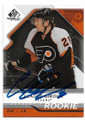 CLAUDE GIROUX PHILADELPHIA FLYERS AUTOGRAPHED & NUMBERED ROOKIE HOCKEY CARD #61820H