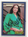 MARY CROSBY AUTOGRAPHED DALLAS CARD #61920A