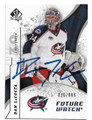 DAN LaCOSTA COLUMBUS BLUE JACKETS AUTOGRAPHED & NUMBERED HOCKEY CARD #62020D