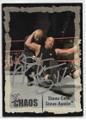 STONE COLD STEVE AUSTIN AUTOGRAPHED WRESTLING CARD #62120A