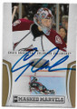 CRAIG ANDERSON COLORADO AVALANCHE AUTOGRAPHED & NUMBERED HOCKEY CARD #62120C