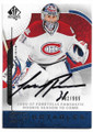 CAREY PRICE MONTREAL CANADIENS AUTOGRAPHED & NUMBERED HOCKEY CARD #62220B