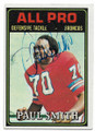 PAUL SMITH DENVER BRONCOS AUTOGRAPHED VINTAGE FOOTBALL CARD #62320A
