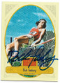 DICK FOSBURY AUTOGRAPHED OLYMPIC TRACK & FIELD CARD #62420C