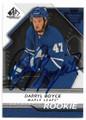 DARRYL BOYCE TORONTO MAPLE LEAFS AUTOGRAPHED & NUMBERED ROOKIE HOCKEY CARD #62620A