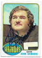 JOHN DEMARIE SEATTLE SEAHAWKS AUTOGRAPHED VINTAGE FOOTBALL CARD #62920D
