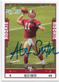 ALEX SMITH SAN FRANCISCO 49ers AUTOGRAPHED ROOKIE FOOTBALL CARD #70120A