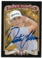 DUSTIN JOHNSON AUTOGRAPHED GOLF CARD #70220C