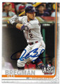 ALEX BREGMAN HOUSTON ASTROS AUTOGRAPHED ALL-STAR GAME BASEBALL CARD #70320G