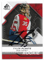 TYLER PLANTE FLORIDA PANTHERS AUTOGRAPHED & NUMBERED ROOKIE HOCKEY CARD #70520G