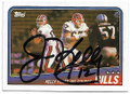 JIM KELLY BUFFALO BILLS AUTOGRAPHED VINTAGE FOOTBALL CARD #70620B